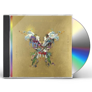 Coldplay BUTTERFLY PACKAGE (LIVE IN BUENOS AIRES / LIVE IN) CD
