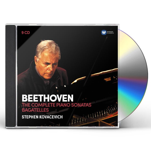 Stephen Kovacevich BEETHOVEN: THE 32 PIANO SONATAS BAGATELLES CD