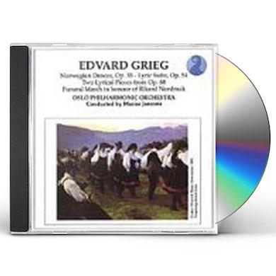 Grieg NORWEGIAN DANCES CD