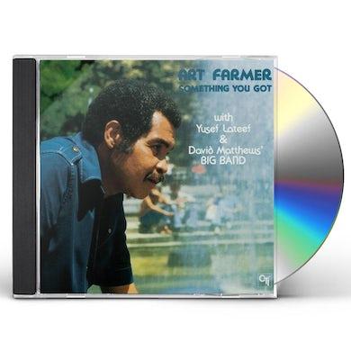 Art Farmer SOMETHING YOU GOT CD