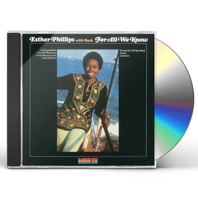 Esther Phillips FOR ALL WE KNOW CD