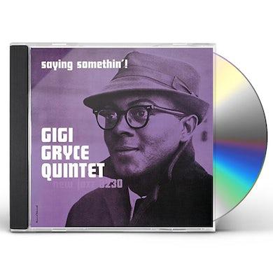 Gigi Gryce SAYIN' SOMETHIN' CD