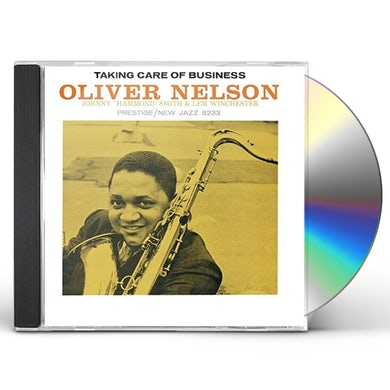 Oliver Nelson TAKIN' CARE OF BUSINESS CD