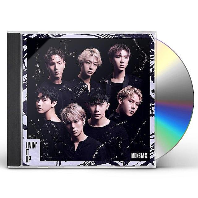 MONSTA X LIVIN IT UP CD