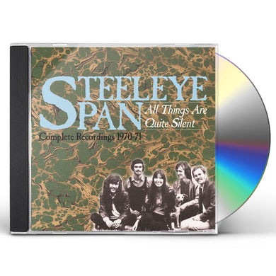 ALL THINGS ARE QUITE SILENT: COMPLETE RECORDINGS CD