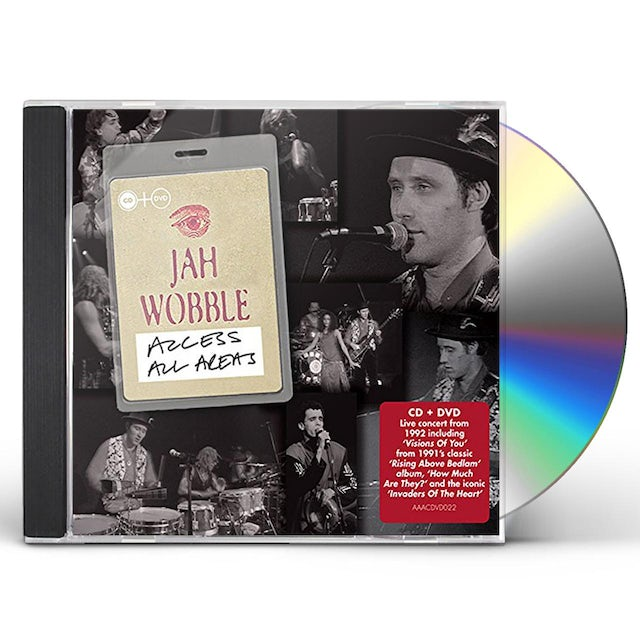 Jah Wobble ACCESS ALL AREAS CD