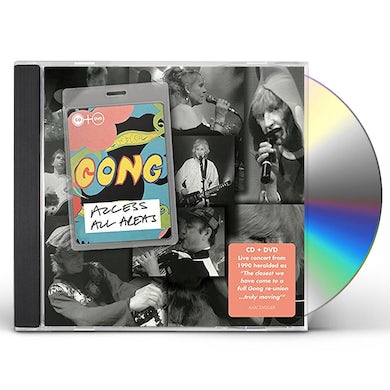 Gong ACCESS ALL AREAS CD