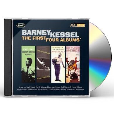Barney Kessel FIRST FOUR ALBUMS CD