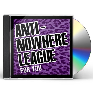 Anti-Nowhere League FOR YOU CD