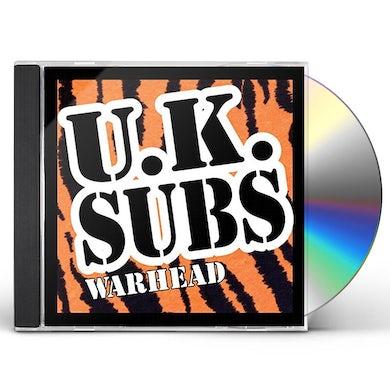 U.K. Subs WARHEAD CD