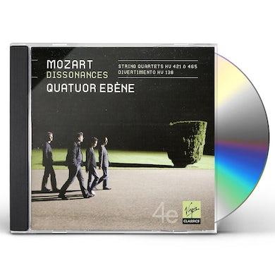 Quatuor Ebene MOZART: STRING QUARTETS CD