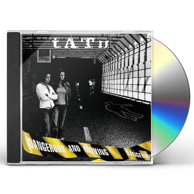 Tatu DANGEROUS & MOVING CD