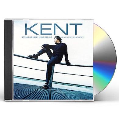 Kent INTEGRALE DES ALBUMS STUDIOS 1982 CD