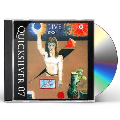 Quicksilver LIVE 07 CD