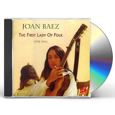 Joan Baez FIRST LADY OF FOLK: 1958 - 1961 CD