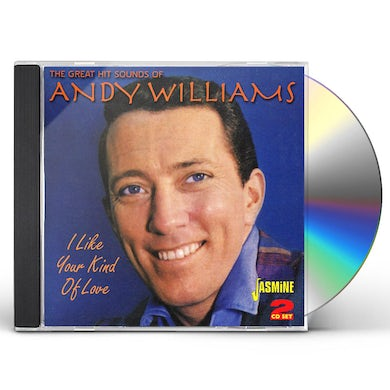 Andy Williams GREAT HIT SOUNDS / I LIKE YOUR KIND OF LOVE CD