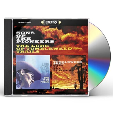 Sons Of The Pioneers LURE OF TUMBLEWEED TRAILS CD