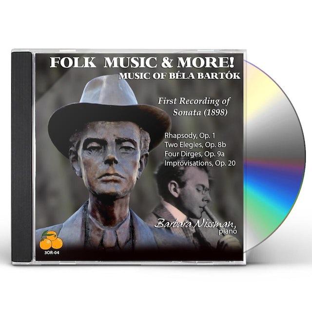 Barbara Nissman FOLK MUSIC & MORE CD