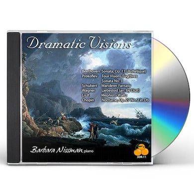 Barbara Nissman DRAMATIC VISIONS CD
