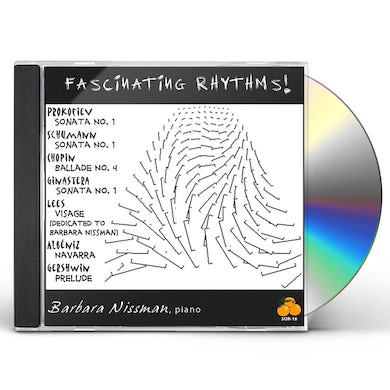 Barbara Nissman FASCINATING RHYTHMS CD