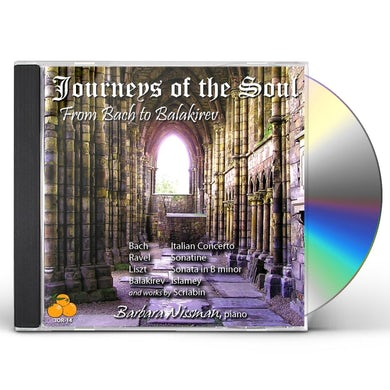 Barbara Nissman JOURNEYS OF SOUL: FROM BACH TO BALAKIREV CD