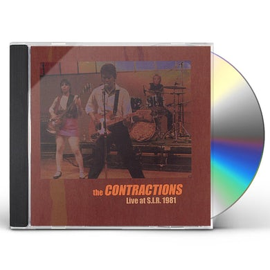 Contractions LIVE AT S.I.R. (1981) CD