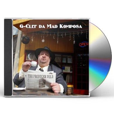 G-Clef Da Mad Komposa PRODUCER 2 CD