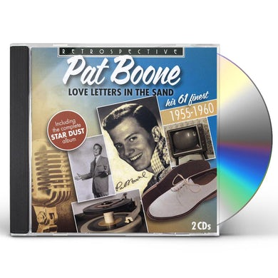 Pat Boone LOVE LETTERS IN THE SAND CD