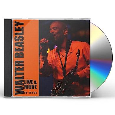 Walter Beasley LIVE & MORE CD