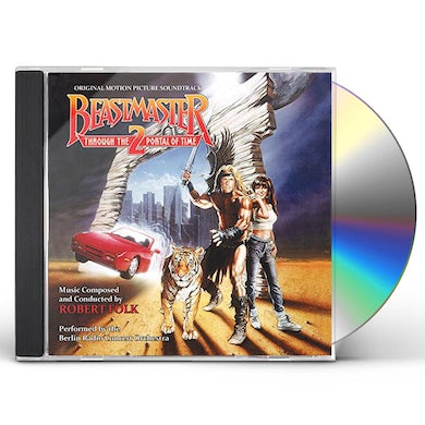 Robert Folk BEASTMASTER II: THROUGH THE PORTAL OF TIME - Original Soundtrack CD