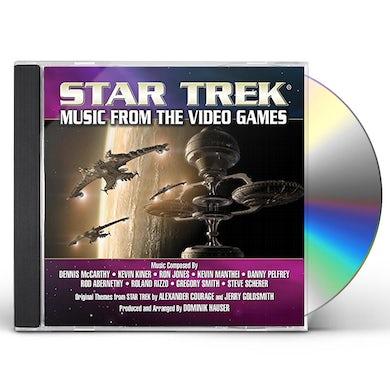 Dominik Hauser STAR TREK: MUSIC FROM THE VIDEO GAMES CD