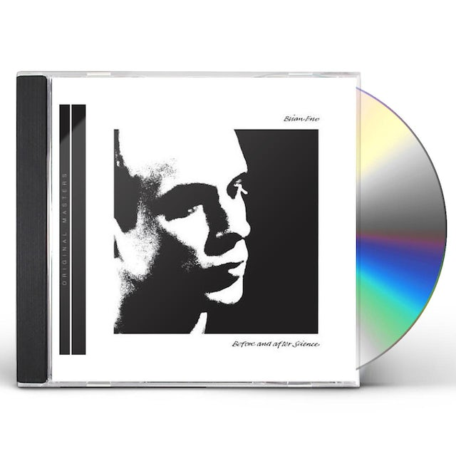 Brian Eno BEFORE & AFTER SCIENCE CD