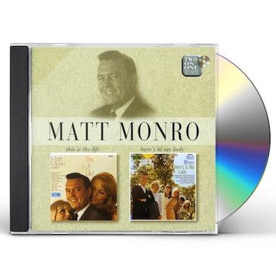 Matt Monro THIS IS THE LIFE CD