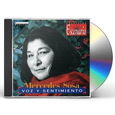 Mercedes Sosa VOZ Y SENTIMIENTO CD