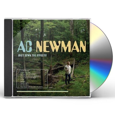 A.C. Newman Shut Down The Streets CD