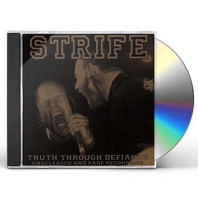 Strife TRUTH THROUGH DEFIANCE CD