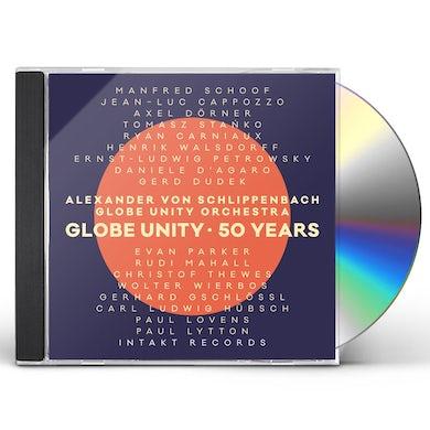 Alexander Von Schlippenbach GLOBE UNITY / 50 YEARS CD