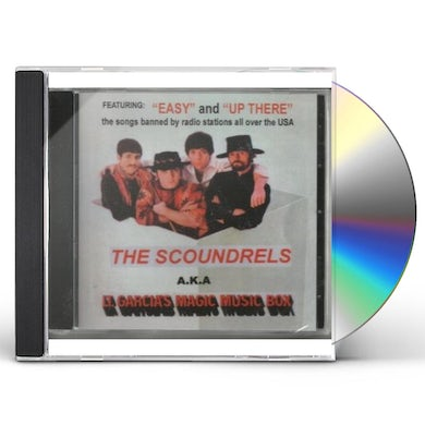 Scoundrels AKA LT GARCIA'S MAGIC MUSIC BOX CD