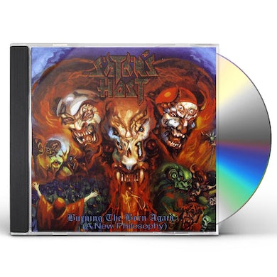 Satan'S Host BURNING THE BORN AGAIN CD