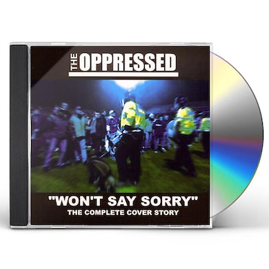 WON'T SAY SORRY-THE COMPLETE COVER STORY CD