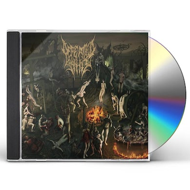 Defeated Sanity CHAPTERS OF REPUGNANCE CD