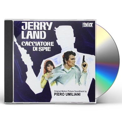 Piero Umiliani JERRY LAND CACCIATORE DI SPIE CD