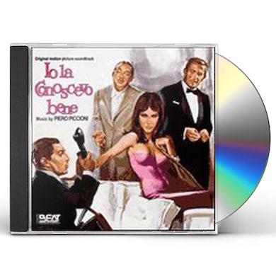 Piero Piccioni IO LA CONOSCEVO BENE CD