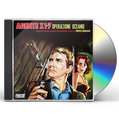 Piero Umiliani AGENTE X1-7 OPERAZIONE OCEANO CD