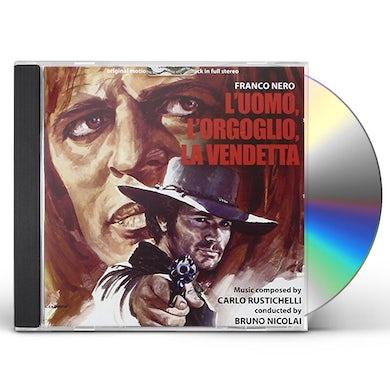 Carlo Rustichelli L'UOMO L'ORGOGLIO LA VENDETTA CD