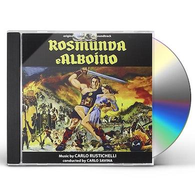 Carlo Rustichelli ROSMUNDA E ALBOINO CD