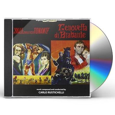 Carlo Rustichelli LA VALLE DELL'ECO TONANTE/GENOVEFFA DI BRABANTE CD