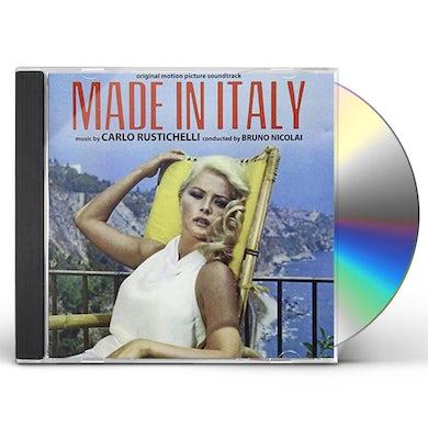 Carlo Rustichelli MADE IN ITALY / Original Soundtrack CD