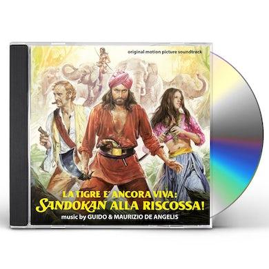 TIGRE ANCORA VIVA: SANDOKAN ALLA RISCOSSA / Original Soundtrack CD