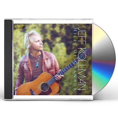 Jeff Kollman HILLS OF GRANADA CD